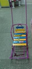 Санки с колесиками и с переставной ручкой Тимка 8 Комфорт