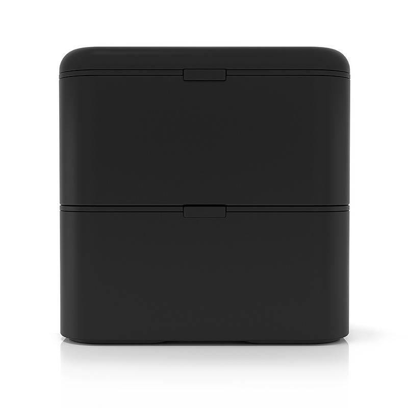 Ланч-бокс Monbento Square (1,7 литра) черный