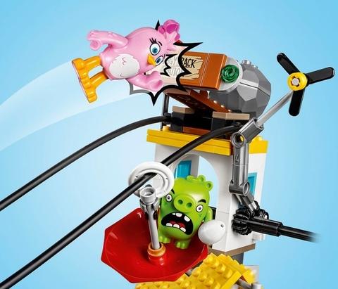 LEGO Angry Birds: Разгром Свинограда 75824 — Pig City Teardown — Лего Злые птички Энгри бёрдз