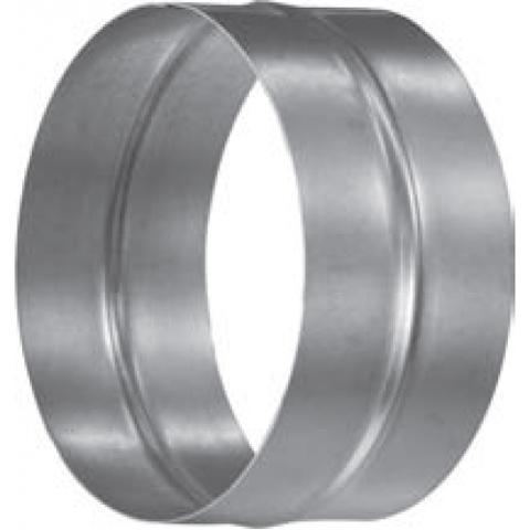 Муфта-ниппель D 125 оцинкованная сталь