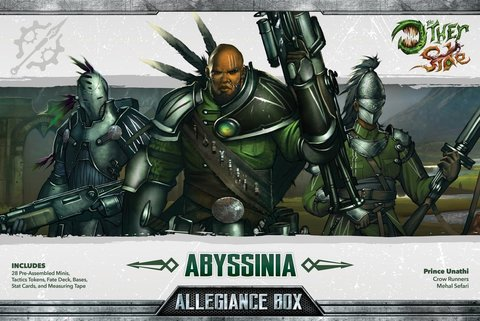 The Other Side: Abyssinia - Allegiance Box (Prince Unathi)