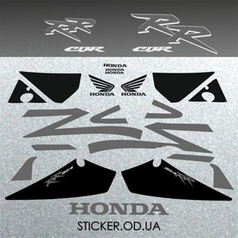 Набор виниловых наклеек на мотоцикл HONDA CBR 954 RR 2002