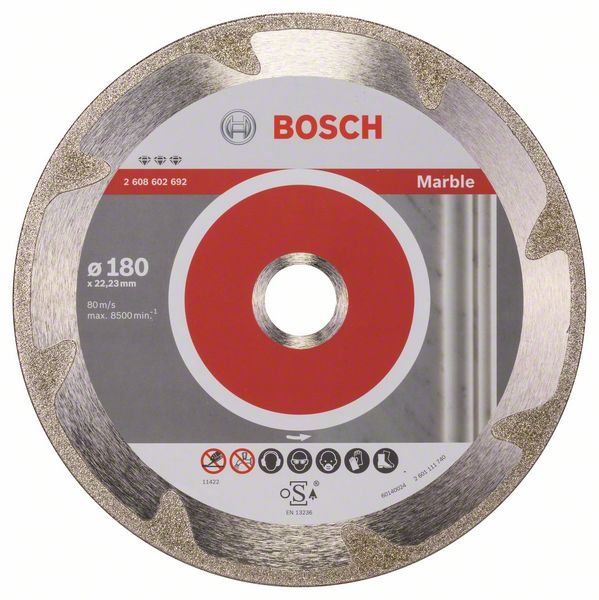 Алмазный диск Best for Marble 180-22,23 Bosch 2608602692