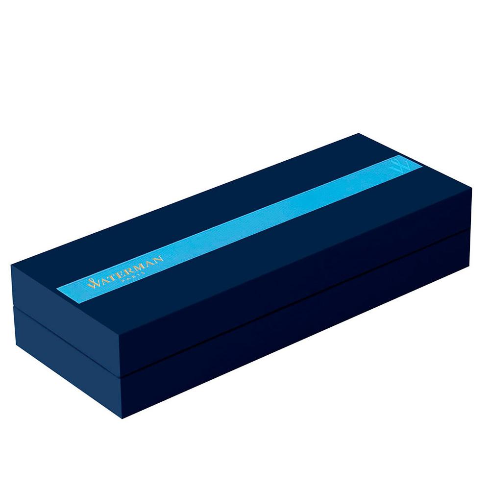 Waterman Charleston - Ebony Black CT, ручка-роллер, F, BL