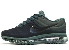 Кроссовки Мужские Nike Air Max 2017 Black Green