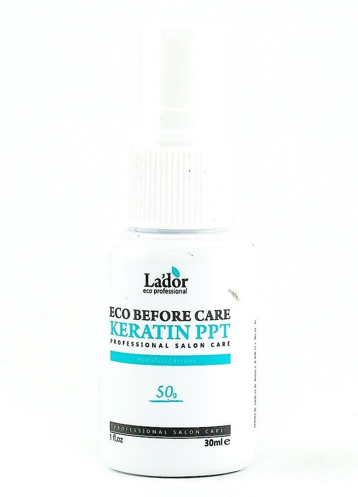 Кератиновый спрей для защиты и восстановления волос Before Keratin PPT Lador
