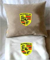 Плед в чехле с логотипом Porsche