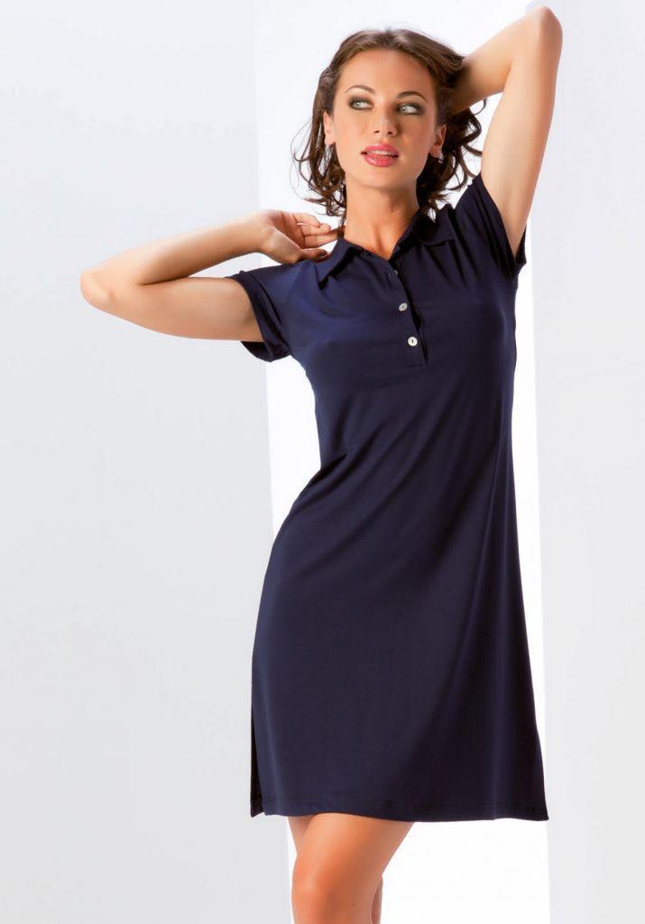 Летнее платье с воротником B&B