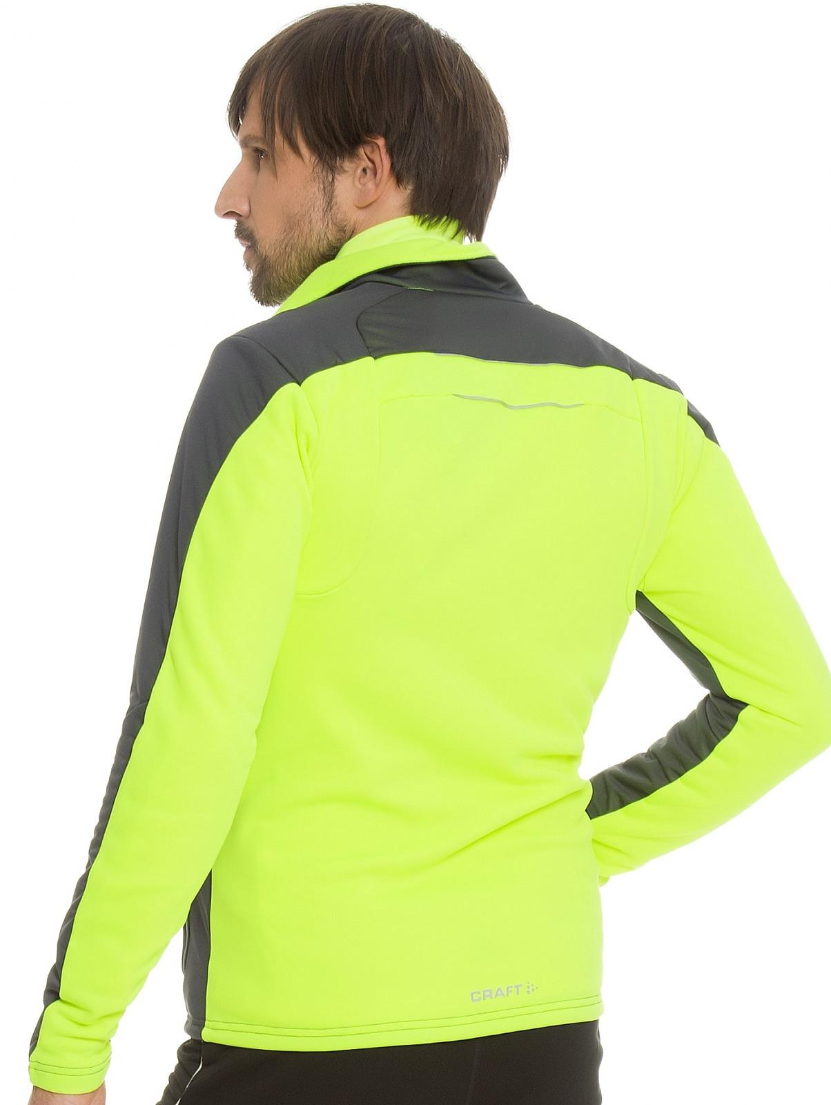 Мужская лыжная куртка крафт Storm (194653-2995) asphalt