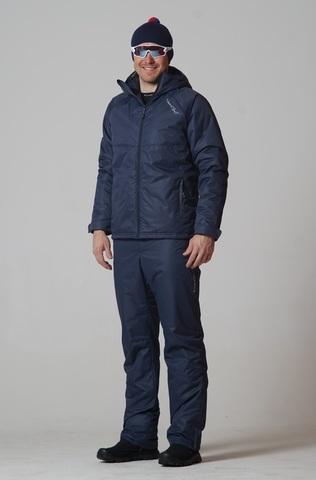 Nordski Motion мужской прогулочный костюм dark navy