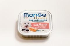 Monge Dog fresh влажный корм для собак с лососем 100гр