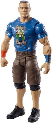 Фигурка Джон Сина (John Cena) со звуковыми эффектами - рестлер Wrestling WWE, Mattel