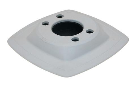 Монтажная ПВХ-площадка на надувной борт Mp224, 110 х 110 мм, белая