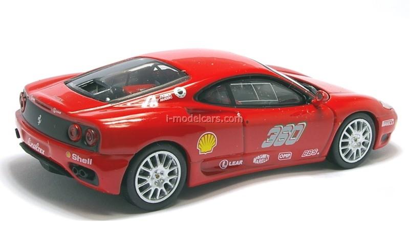 Ferrari 360 GT Challenge red 1:43 Eaglemoss Ferrari Collection #29