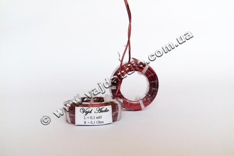 Катушка индуктивности Vajd Audio 0,1 mH* 0,1 Ohm* 1,25 mm