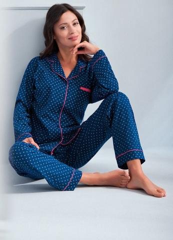 Классическая пижама женская Luna 581