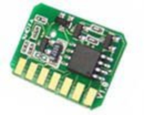 Чип OKI C610 голубой 6000 страниц. Chip OKI C610 cyan 6k
