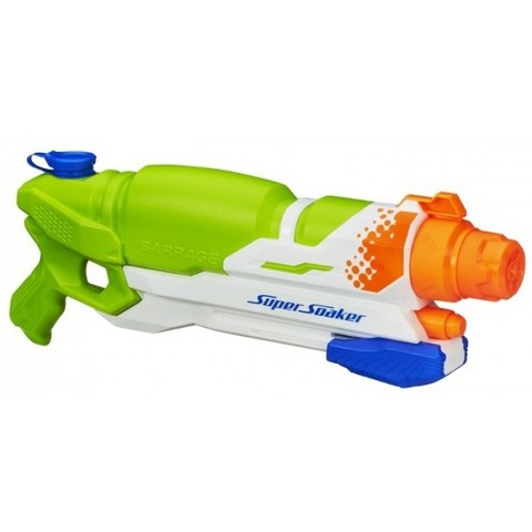 Nerf: Водяной бластер Super Soaker Шквал A4837H — Supersoaker Barrage Water Blaster — Нерф Нёрф Хасбро