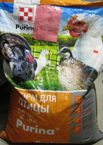 БВМК 25% стартовый для бройлеров Пурина 25кг. Сырой протеин 49%