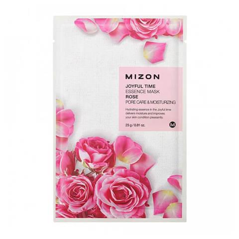 Mizon Joyful Тканевая маска для лица с экстрактом лепестков Дамасской Розы 23г