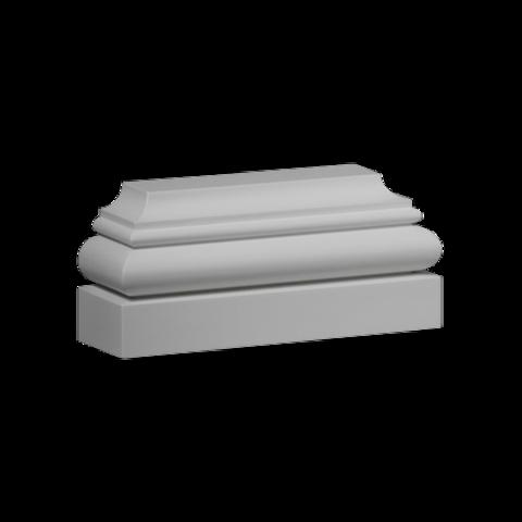 База (пилястра) Европласт из полиуретана 4.23.101, интернет магазин Волео