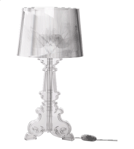 table lamp   Bourgie Table lamp by Kartell ( CLEAR )