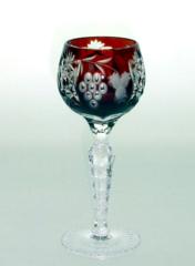 Рюмка для ликера 60 мл Ajka Crystal Grape темно-бордовая