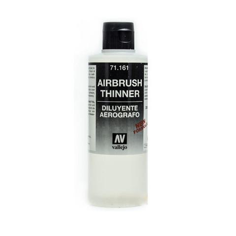71161 Airbrush Thinner Разбавитель Красок для Аэрографа, 200 мл Acrylicos Vallejo