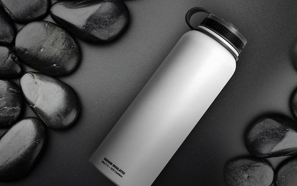 Термобутылка Asobu The mighty flask (1,1 литра) белая