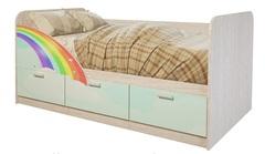 Кровать Минима Радуга-