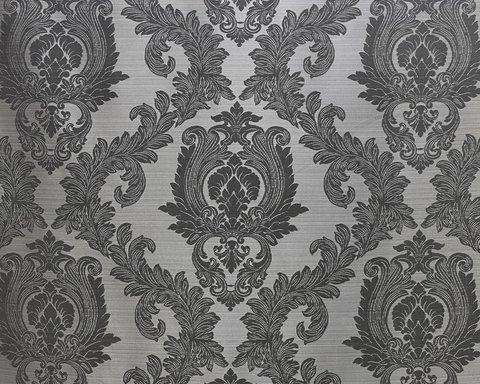 Портьерная ткань жаккард Вероника темно-серый