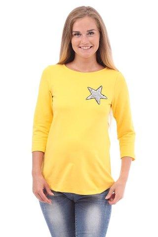 Джемпер для беременных 09955 желтый
