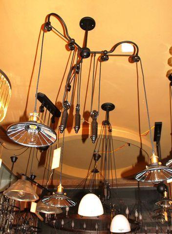vintage chandelier 50-72 ( by Funky Vintage )