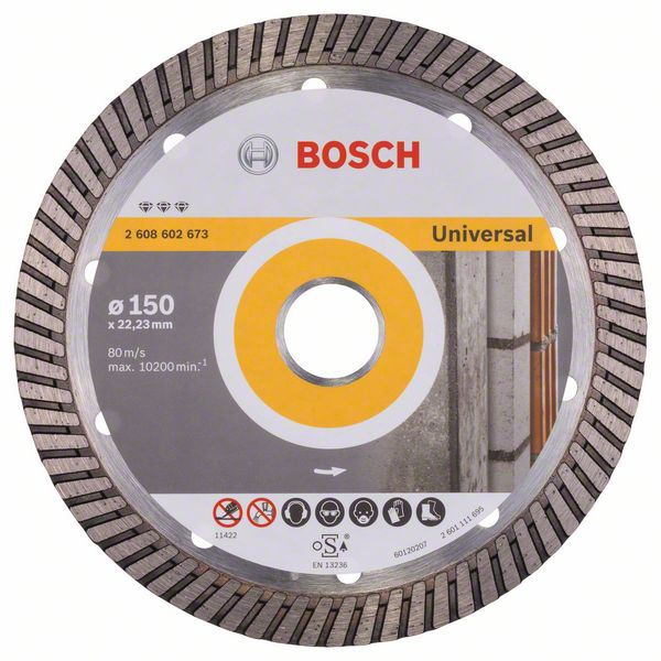 Алмазный диск Best for Universal Turbo 150-22,23 Bosch 2608602673