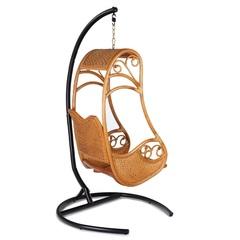 Подвесное кресло из натурального ротанга Hanging Honey