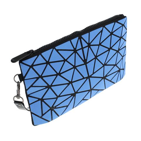 Косметичка женская Musaa Geometric bags, blue, фото 2