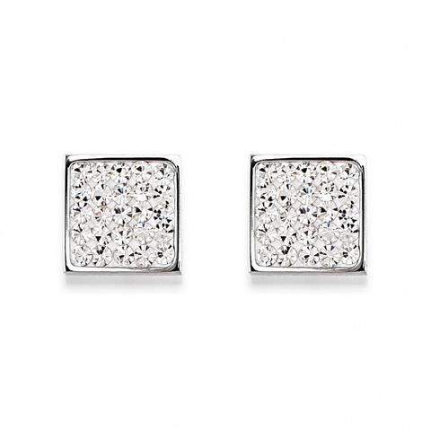 Серьги Coeur de Lion 0117/21-1800 цвет серебряный