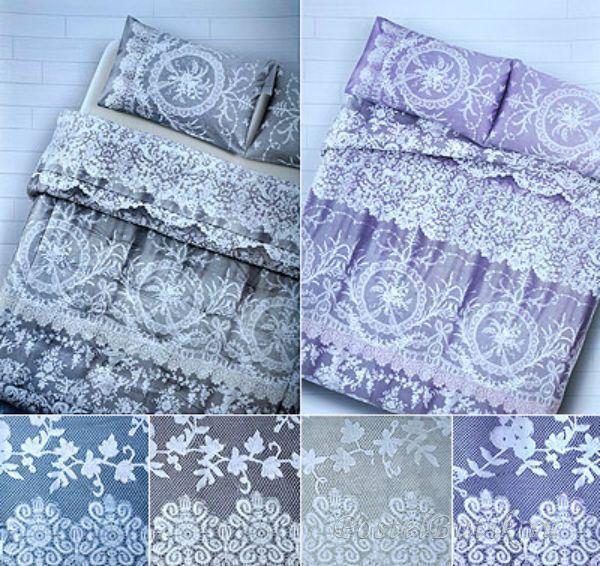 Постельное белье 2 спальное евро макси Carrara Macrame