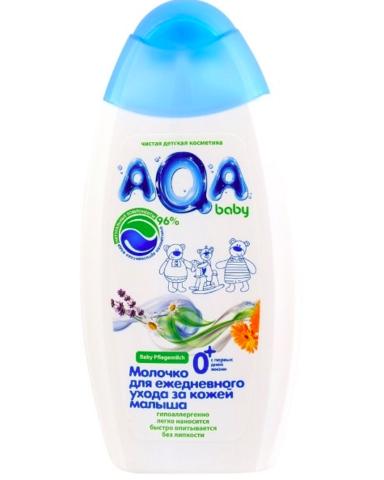 AQA baby. Молочко для ежедневного ухода за кожей малыша, 250 мл