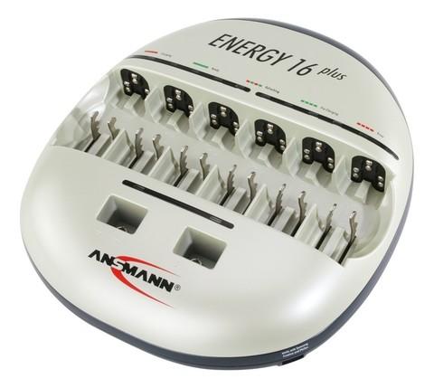 Быстрое Зарядное устройство ANSMANN Energy16 (АА,ААА,С,D, Е крона)