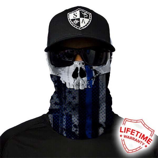 SA Company Бандана с черепом SA Thin Blue Line Skull THIN-BLUE-LINE-2.jpg