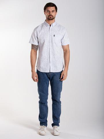 Рубашка к/р муж.  M012-11B-50PS PYRAMID