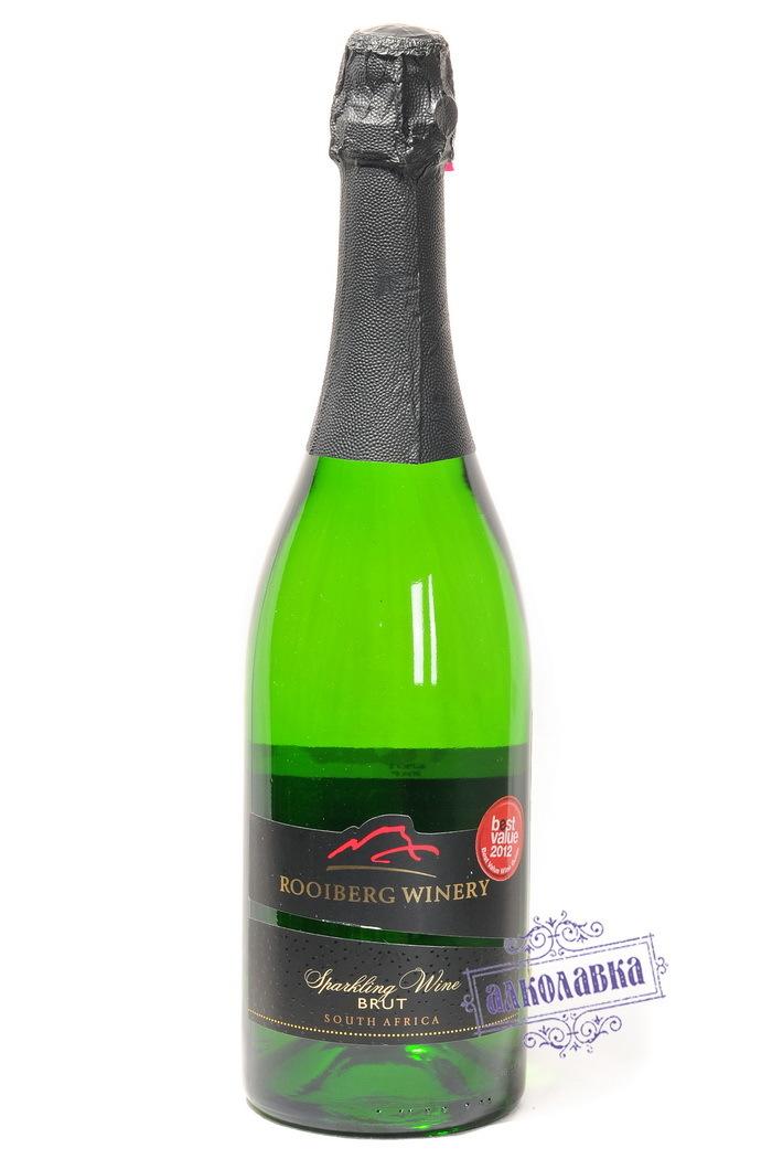 Вино игристое Руиберг Вайнери Брют белое 12% 0,75 (корка)