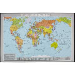 Коврик на стол Attache Политическая карта мира 38x58 см 2129.1