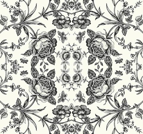 Обои Wallquest Black & White BW21610, интернет магазин Волео
