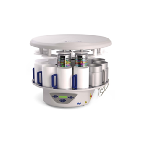 Автоматический процессор для обработки тканей карусельного типа STP 120