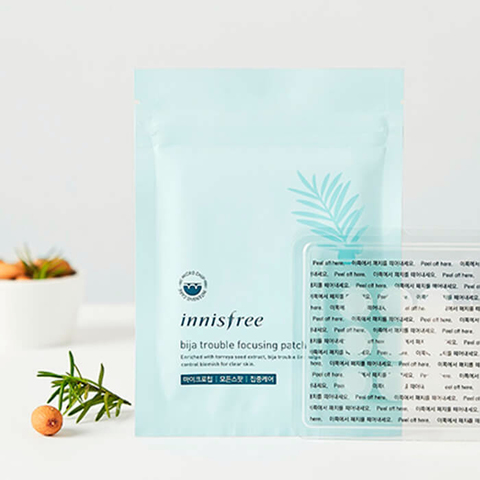 Innisfree Bija Trouble Focusing Patch (9 шт)