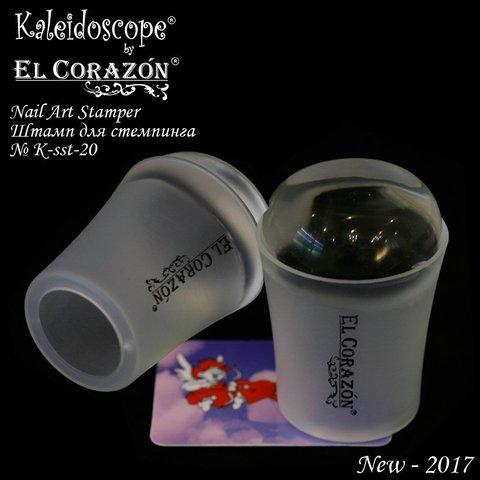 EL Corazon Прозрачный штамп и скрапер №ksst-20 (прозрачный)