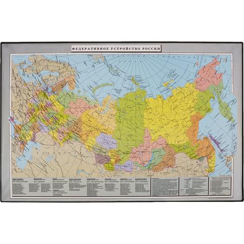 Коврик на стол Attache  Россия и соп.гос-ва , 38 х 59 см. 2129.2