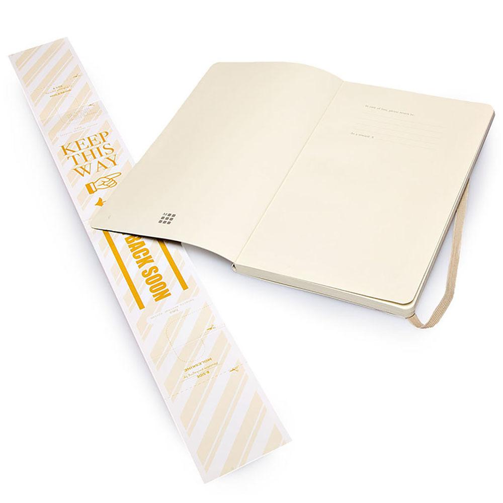 Блокнот Moleskine Classic Soft Pocket, цвет бежевый, в линейку
